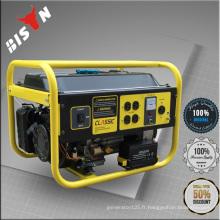 BISON CHINA Easy Start cam professionnel 168F Générateur d'essence 5.5 ch