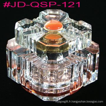 Bouteille de parfum de décoration de table en cristal (JD-QSP-121)