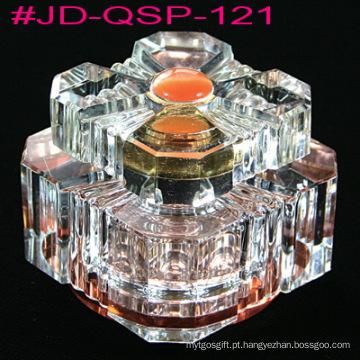 Garrafa de perfume de decoração de mesa de cristal (JD-QSP-121)