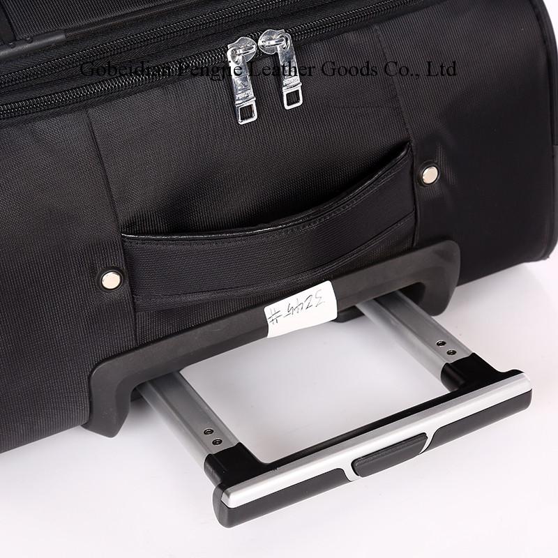 OEM Logo Nylon Fabirc 3pcs Rolling Trolley Luggage
