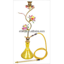Einzigartige Shisha Lotus design