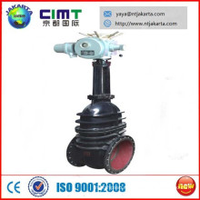 Válvula de compuerta eléctrica marina DN600 para la venta