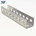Perfil de aço galvanizado com apoio de Slotted u