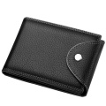 New Vintage Travel Leather Small Money Clip Wallet
