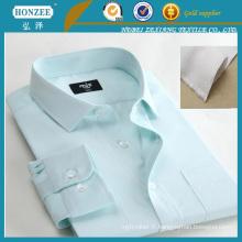 Interlignable en coton tissé fusible pour chemise