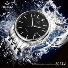 Reloj mecánico automático para hombre de acero inoxidable superior 72320