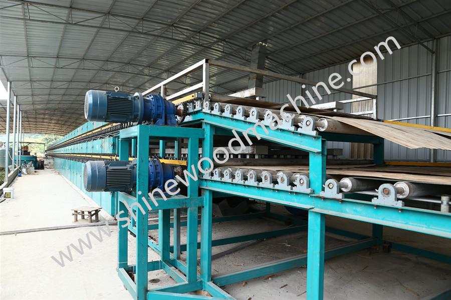 Roller Core Veneer Dryer Machine