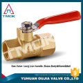 "TMOK Mini Ball Valve 1/2"" MALE X FEMALE NPT Chrome Plated Brass Body 450 psi M X F"
