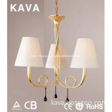 2013 Modern chandelier lamp with lampshade