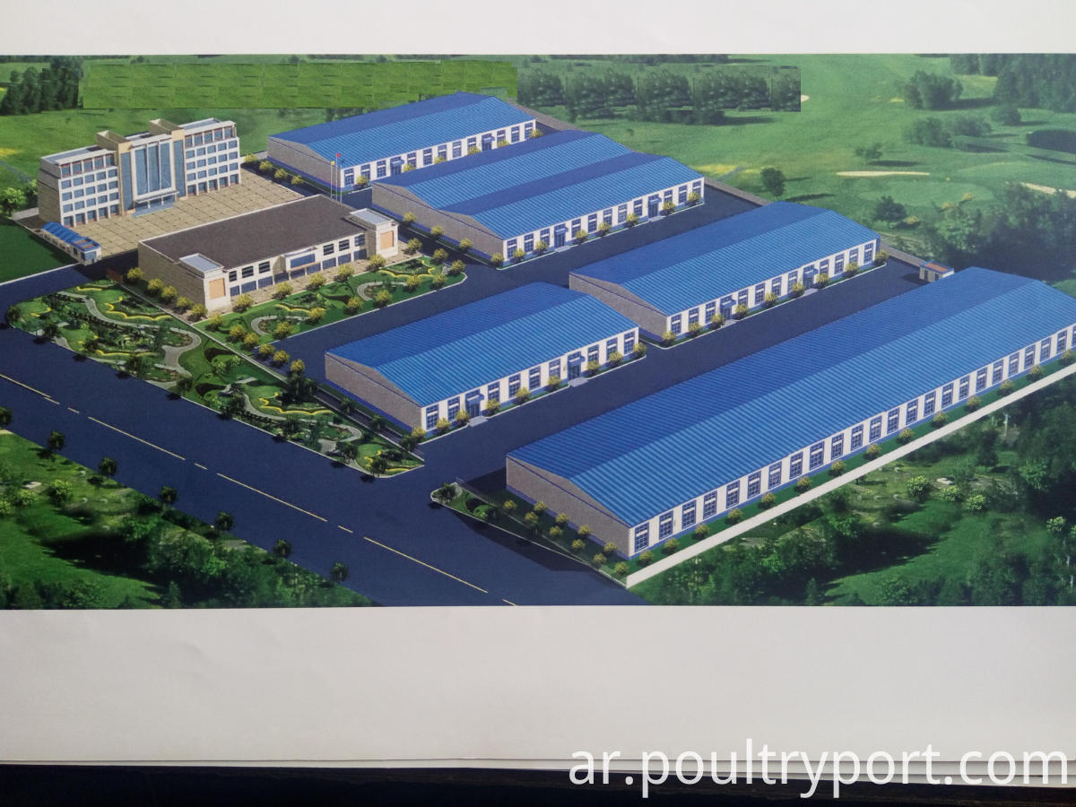 Poultry farming design factory