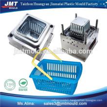 plastic injection storage basket mould