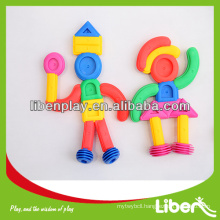 Novel Creative plastic interlocking toy for kids with factory price LE.PD.012