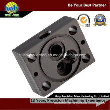 Perfuração CNC e usinagem de peças de alumínio de fresagem