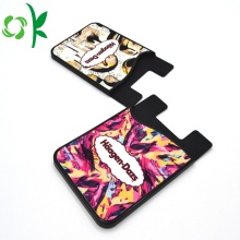 Customized Unique Silicone Adhesive Card Holder Phone Wallet