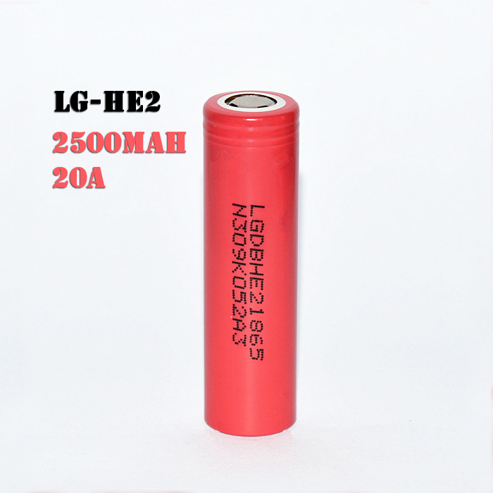 2017 Authentic LG HE2 2500mah 20A Battery