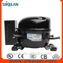 QDZH35G voiture d'unités refroidissement 12v avec batterie puissance R134a dc 12v 24v compresseur