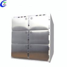 Refrigerador de aço inoxidável médico do congelador da morgue