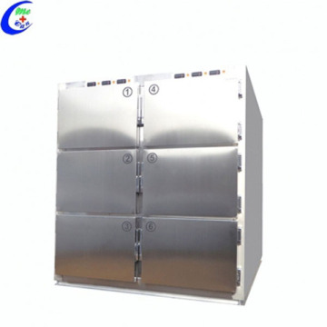 Medical Stainless Steel Morgue Freezer Refrigerator