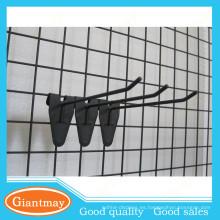 GIANTMAY longitud 150mm líder de la calidad de visualización de gancho para gridwall