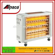 Elektrische Quarzheizung 2400W mit BV-Prüfbericht