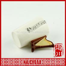 Cerâmica musical da caneca para o presente