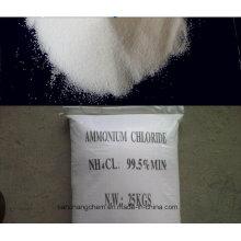 (Nh4cl) Fertilizante de Cloruro de Amonio Mínimo 99,5% Nº CAS 12125-02-9