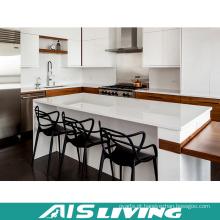 Mobília dos armários de cozinha do estilo de Europa com tabela longa (AIS-K339)