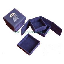 Boîte cadeau en chocolat en carton recyclé à la main
