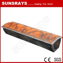 Brûleur en fibre de métal, sécheur de brûleur à gaz