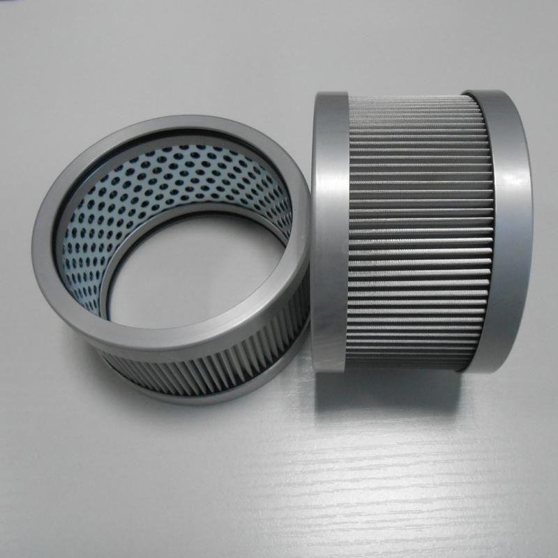 Metal mesh filter element