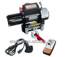 Portable 12V electric winch 6000LB