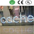 Sinal de letra iluminado LED ao ar livre de alta qualidade