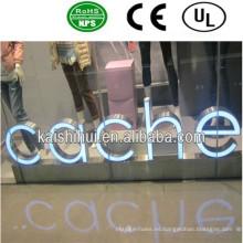 Alta calidad al aire libre LED iluminado signo de la letra