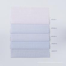 STOCK Tecido Check Tecido de microfibra Umidade ventilar