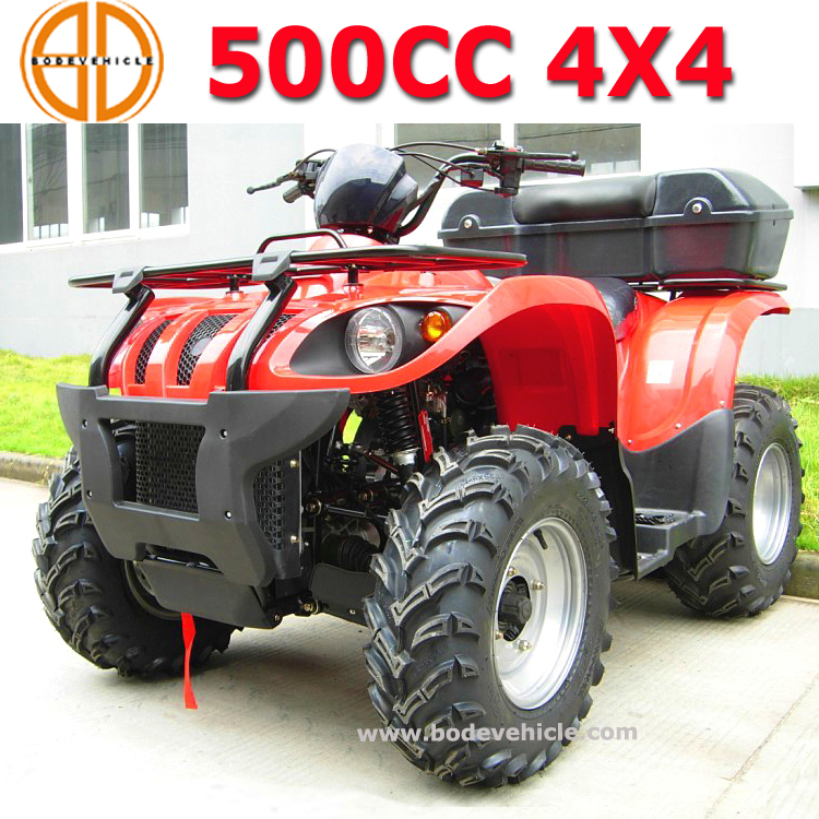 Bode gas 500cc 4x4 ATV Jaguar 500