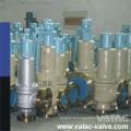 Soupape de décharge de sécurité en acier inoxydable 304/316 à faible portance Cl1500xcl1500 Rtjxrf