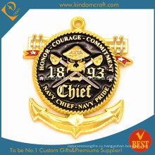 Изготовленная на заказ двухсторонняя монета с печатным логотипом