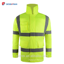 Wholesale Safety Jackets Manufacturer Custom Waterproof High Visibility Reflective Workwear Hi Vis Winter Parka