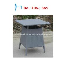 Мебель квадратный стол искусственный ротанг стол (CF1235T)
