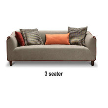 Meubles de maison de Style de l'Europe du Nord, Sofa de tissu de conception Simple (M610)