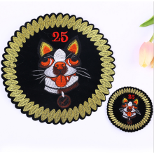 Custom Logo Personalized Self Adhesive Dog Embroidery Patch