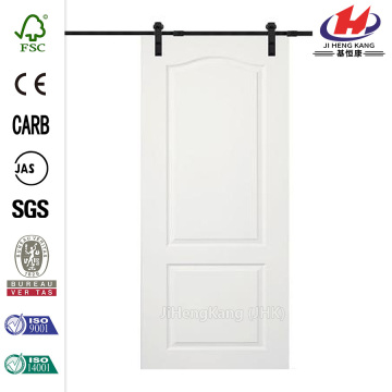 Composite Barn Door with Door Hardware Kit