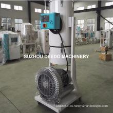Máquina de alimentación de cargador de pellets de plástico al vacío