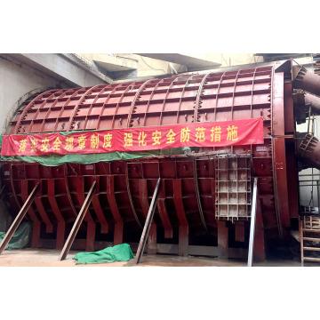 Structure de manchon en acier pour accessoire de métro