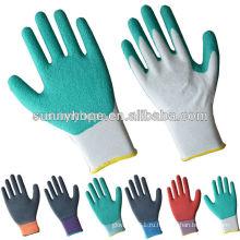 13gauge нейлон латексная пена садовые рабочие перчатки
