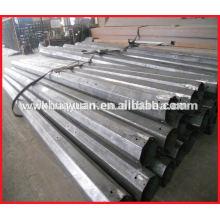 galvanized steel electric pole