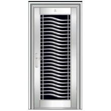 security stainless steel doors