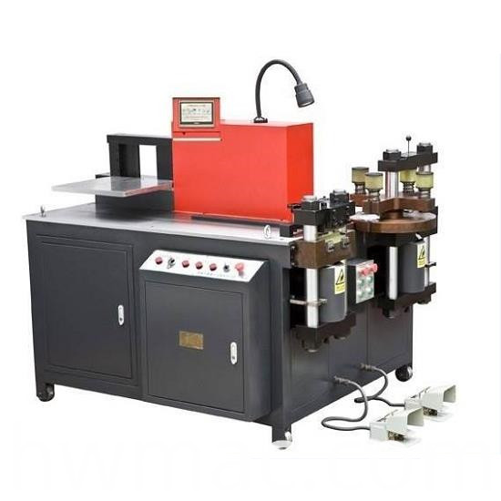 busbar cutting bending punching machine