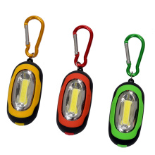 High quality portable Mini keyring led light keychain