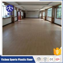 Plancher stratifié de plancher en plastique de sol en plastique de plancher de jardin d'enfants de jeu commercial